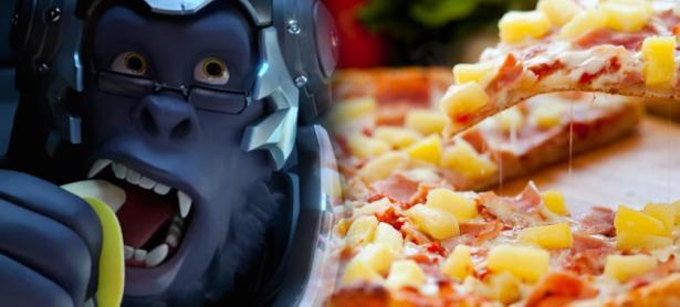 Todos los personajes de <em>Overwatch</em> aman la pizza con piña