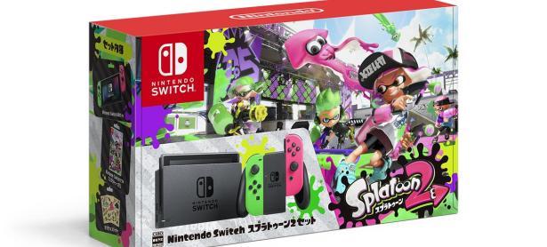 Nintendo vende en Japón la caja vacía del pack de <em>Splatoon 2</em> con Nintendo Switch
