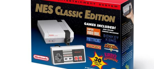 El NES Classic Edition vendió más que PS4 y Xbox One durante abril