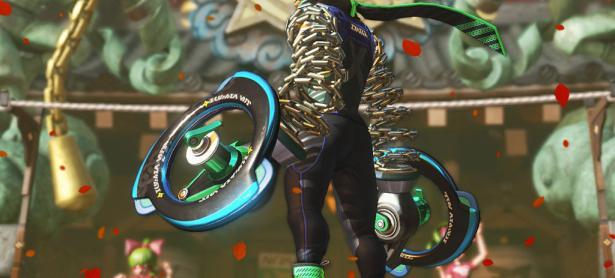 Ninjara fue el personaje más jugado en el demo de <em>ARMS</em>