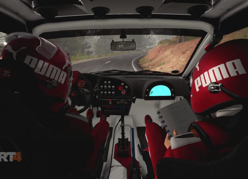 Tu copiloto es vital para poder tomar las curvas con precisión