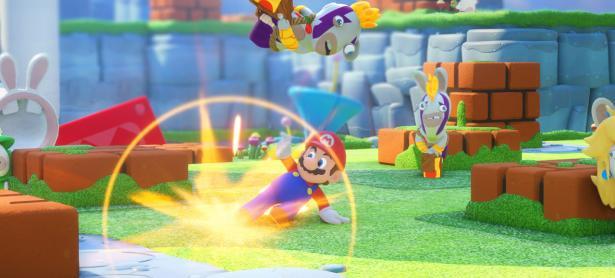 Jake Solomon se sorprendió con el sistema de juego de <em>Mario + Rabbids Kingdom Battle</em>