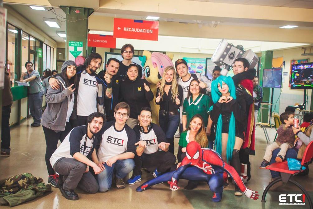 Dia Gamer ETC/Calvo Mackenna