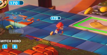 <em>Mario + Rabbids Kingdom Battle</em> no ocupará mucho espacio en tu Switch