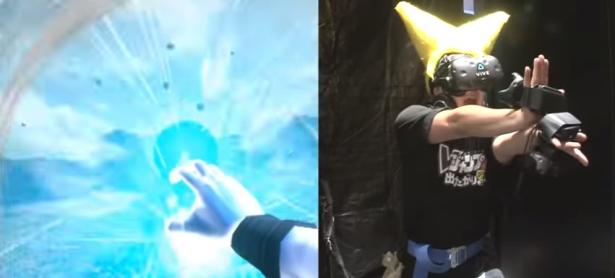 Lanza un Kamehameha con tus propias manos en <em>Dragon Ball VR</em>