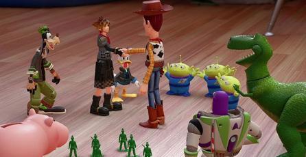 Pixar quedó sorprendido tras el trabajo mostrado en <em>Kingdom Hearts III</em>