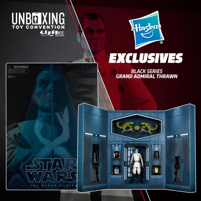 Exclusivas Hasbro de la Unboxing Toy Convention