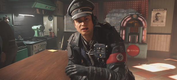 Checa uno de los tensos encuentros de <em>Wolfenstein II: The New Colossus</em>