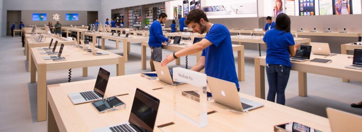La filosofía de las Apple Store es darle al comprador una experiencia personalizada y bien informada