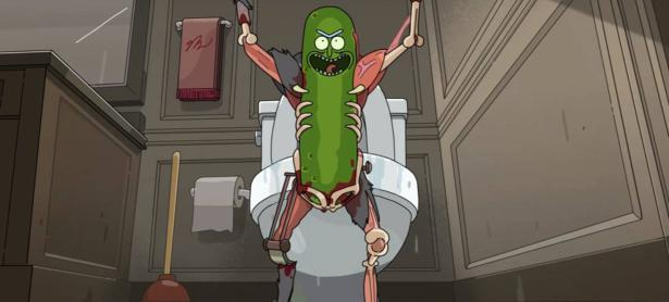Rick se convierte en un pickle en el mas reciente episodio de <em>Rick and Morty</em>