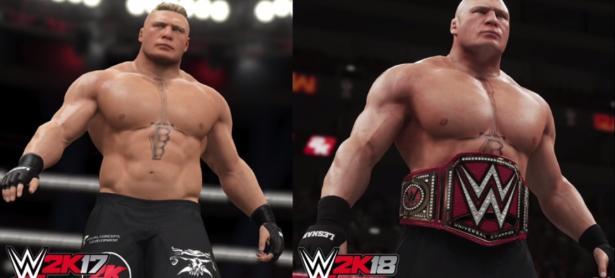 Así es como luce en acción <em>WWE 2K18</em> y su nueva iluminación