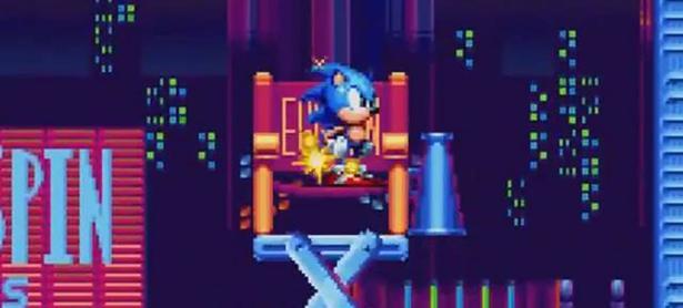 Así luce la zona Studiopolis en <em>Sonic Mania</em>