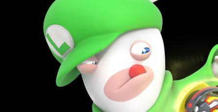 Conoce las habilidades de Rabbid Luigi en <em>Mario + Rabbids Kingdom Battle</em>