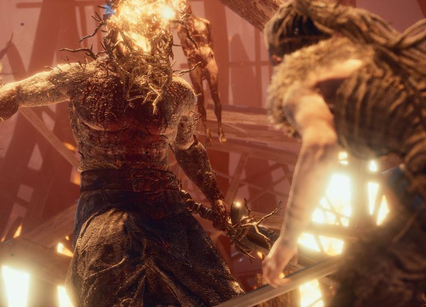 Los enemigos de Hellblade están muy bien diseñados