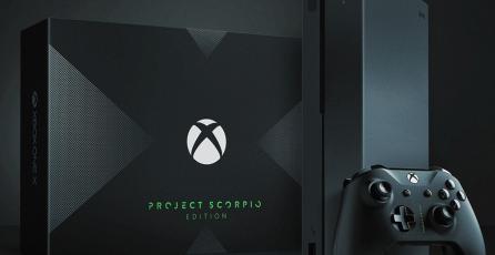 Conoce el Xbox One X Project Scorpio Edition