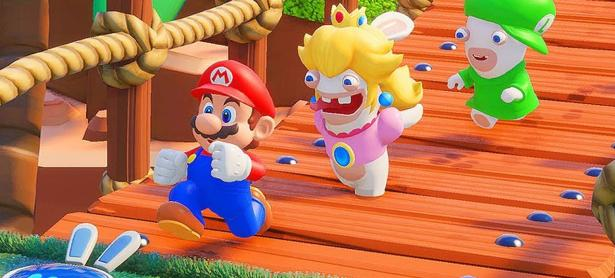 Detallan habilidades de Rabbid Peach en <em>Mario + Rabbids Kingdom Battle</em>