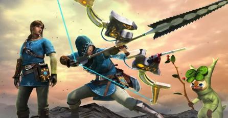 Así luce el contenido de <em>Zelda: Breath of the Wild</em> en <em>Monster Hunter XX</em>