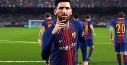 Demo de <em>PES 2018</em> ya está disponible en PS4 y Xbox One