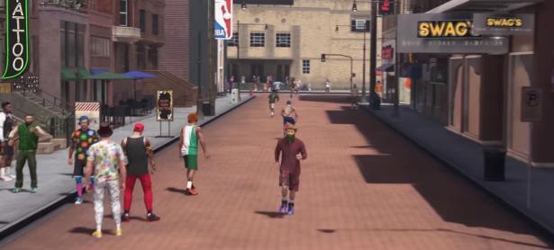 <em>NBA 2K18 </em> presentará un modo de mundo semiabierto
