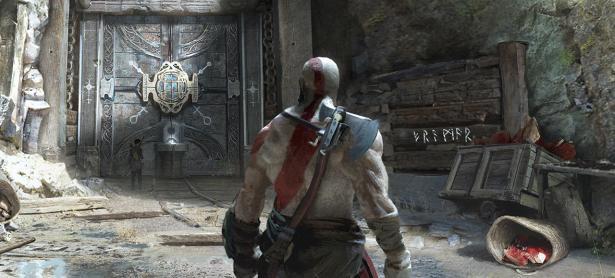 Nuevo arte de <em>God of War </em>muestra unas ruinas en Midgard