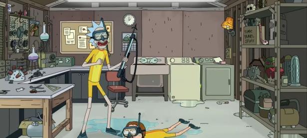 <em>Rick and Morty</em> van a la Atlántida en un nuevo episodio de la 3era temporada