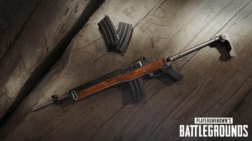 La Mini-14 es la nueva arma que encontrarás como Loot