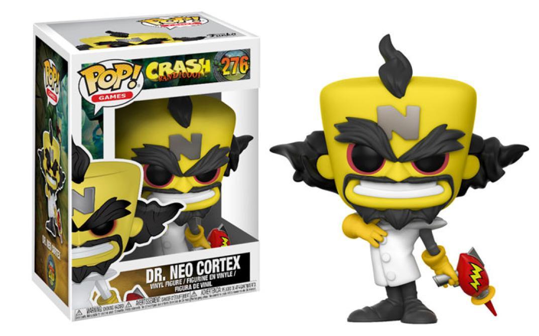 Checa los Funko Pop! de <em>Crash Bandicoot</em>