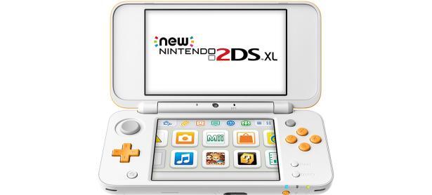 El 2DS XL blanco y anaranjado llegará a América