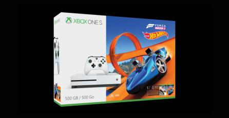Anuncian bundle de Xbox One S con <em>Forza Horizon 3 Hot Wheels</em>