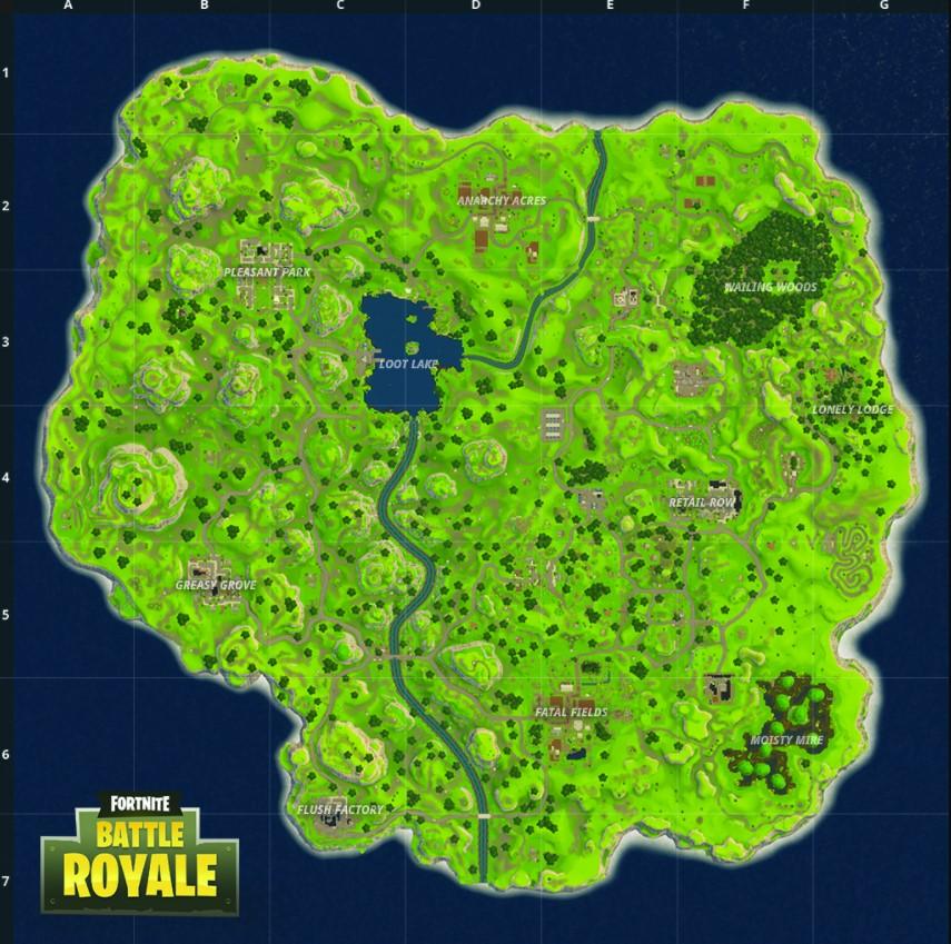 Mapa FBR