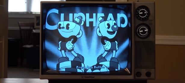 Así es como luce <em>Cuphead</em> en un antiguo televisor en blanco y negro