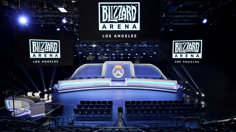 E-Sports blizzard arena