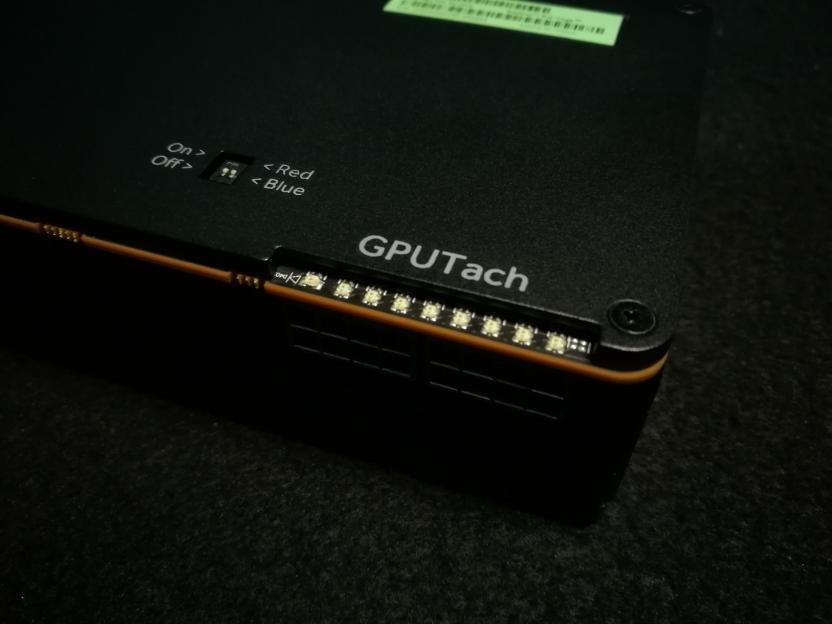 Tacómetro LED otorga un toque de distinción