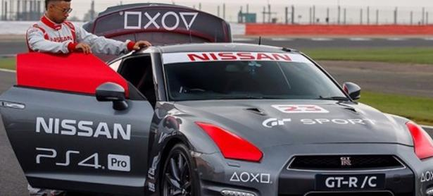 Nissan creó un auto que se controla con un DualShock 4