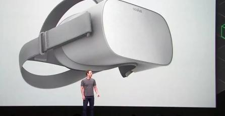 Oculus lanzará un headset de realidad virtual  de bajo costo