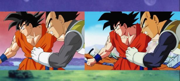 Así luciría <em>Dragon Ball Super</em> si hubiera sido creado en los 90s