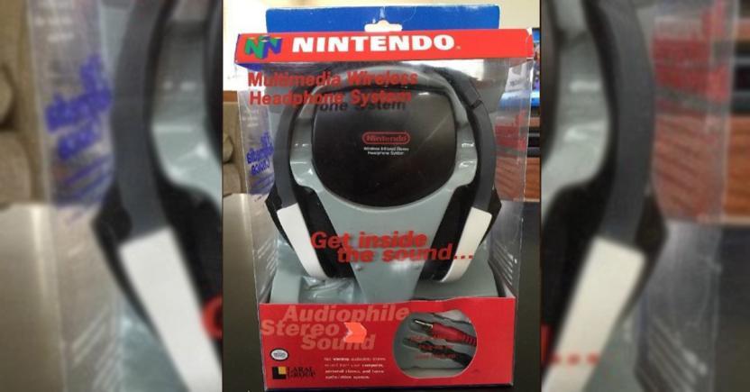 El único otro producto de Nintendo que lanzó Laral: Audífonos inalámbricos