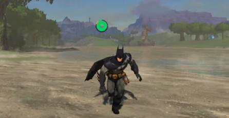 Batman salva Hyrule con este mod de <em>Breath of the Wild</em> para PC