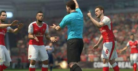 Parche para <em>FIFA 18</em> corrige un detalle del arbitraje