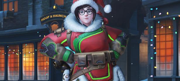 Filtran posible skin navideño de <em>Overwatch</em>