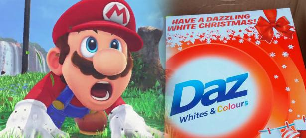Compró una Nintendo Switch y le llegó una caja de detergente