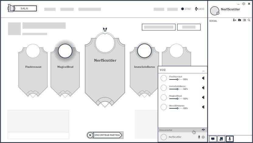 Maqueta del sistema de voz