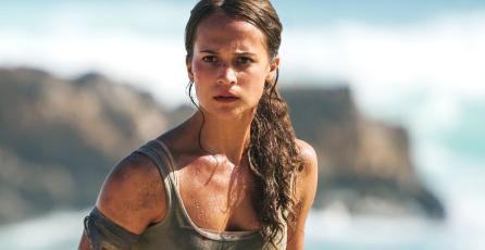 Nuevo póster de <em>Tomb Raider </em>ofrece un vistazo más cercano a Lara Croft