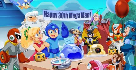¡<em>Mega Man</em> cumple 30 años!
