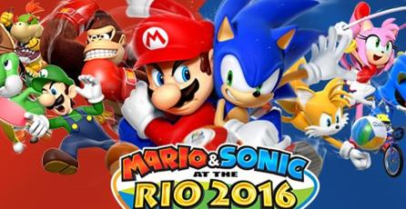 <em>Mario &amp; Sonic at the Rio 2016 Olympic Games</em> desaparecerá de la eShop