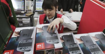 Switch está por superar ventas iniciales de PS2 en Japón