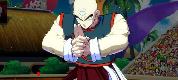 Chaoz ayudará a Ten Shin Han en <em>Dragon Ball FighterZ</em>
