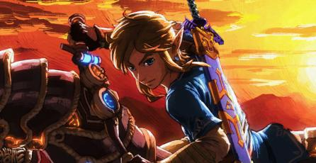 La moto de <em>Zelda: Breath of the Wild</em> está inspirada en <em>Mario Kart 8</em>