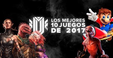 Los mejores 10 juegos de 2017