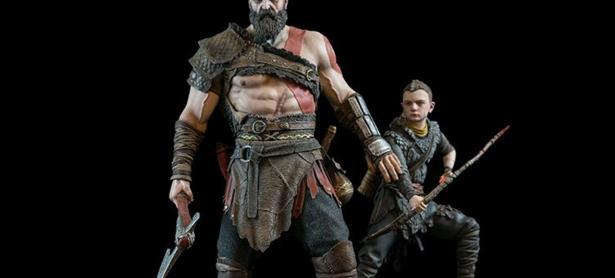 Lanzarán increíble estatua de Kratos y Atreus de <em>God of War</em>